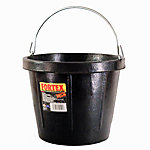 Fortex Calf-Mate Calf Feeder, 2 gal. Capacity, Black