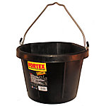 Fortex Corner Bucket, 5 gal. Capacity, Black