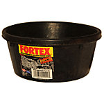 Fortex Round Feeder, 1/2 gal. Capacity, Black