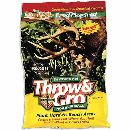 Evolved Harvest Throw & Gro No-Till Forage, 70505