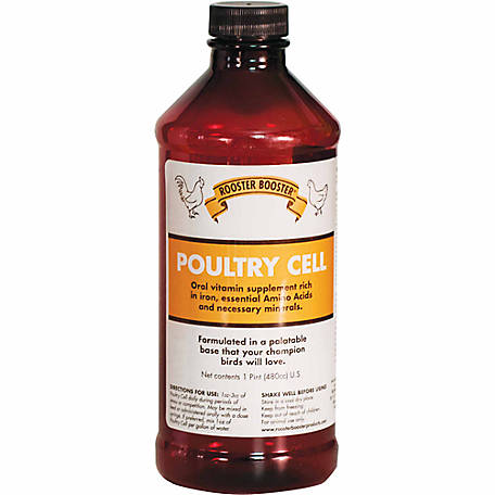Rooster Booster Poultry Cell, 16 oz.