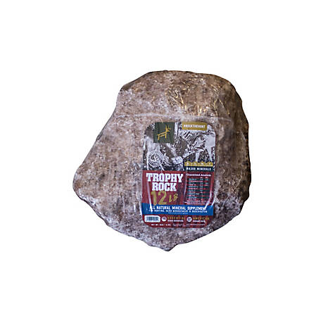 Trophy Rock All-Natural Mineral Lick, 12 lb., 502500