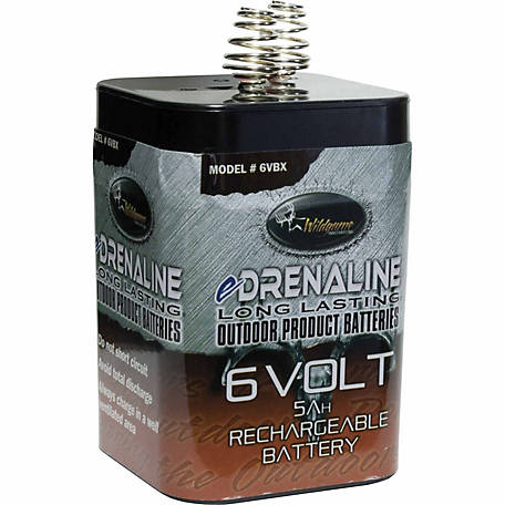 Wildgame Innovations 6V Spring Top-Style Battery