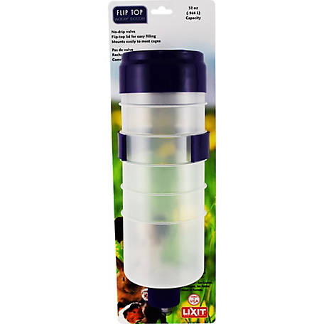 Lixit Water Bottle Flip Top, 32 oz.
