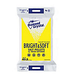 Diamond Crystal Bright & Soft Salt Pellets, 40 lb. Bag