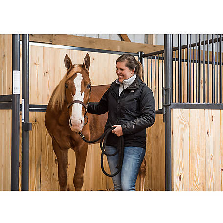 Standard Horse Front Stall Panel with Sliding Door, 10 ft. L