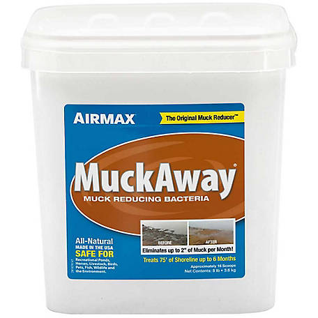 Pond Logic MuckAway, 8 lb./16 Scoops