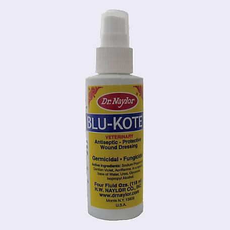 Dr. Naylor Blu-Kote Pump Livestock Wound Spray, 4 oz., BKP