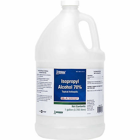 Ideal Animal Health 70% Isopropyl Alcohol, 1 gal.