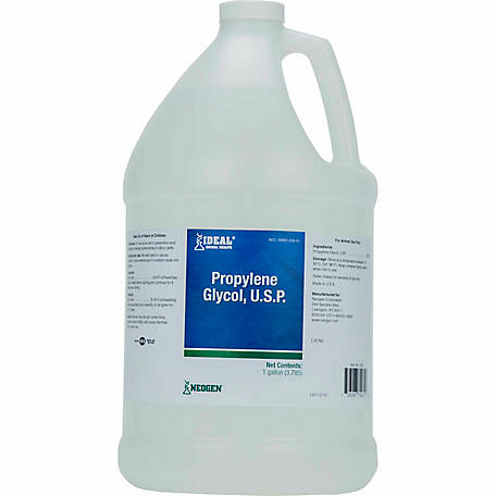 Ideal Animal Health USP Propylene Glycol, 1 gal.