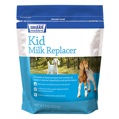 Sav-A-Kid Milk Replacer, 8 lb. Pouch