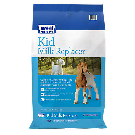 Sav-A-Kid Milk Replacer, 25 lb. Bag