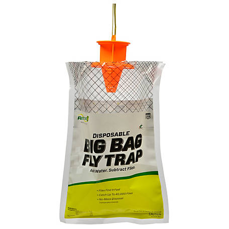 Rescue Big Bag Fly Trap, Disposable, BFTD-DB12-FR