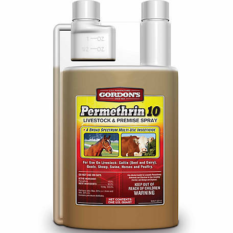 Gordon's Permethrin 10 Livestock and Premise Spray, 32 oz.