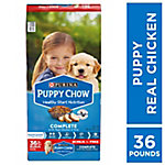 Purina Puppy Chow Complete Dry Dog Food, Bonus Size 36 lb. Bag
