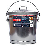 Behrens 10 gal. Galvanized Sheet Steel Garbage Pail