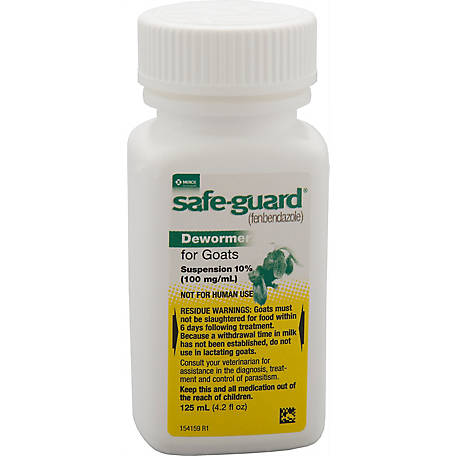 Merck Animal Health Safe-Guard Dewormer for Goats, 125mL