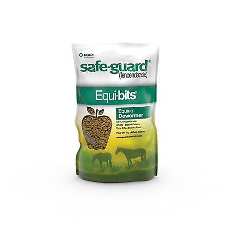 Safe-Guard Animal Health Equi-bits Top Dress Pellets, 1.25 lb., 34613
