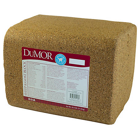 DuMOR Sheep & Goat Block, 33.3 lb.