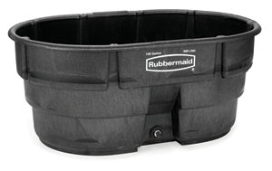 Rubbermaid Structural Foam Stock Tanks 150 Gal Capacity