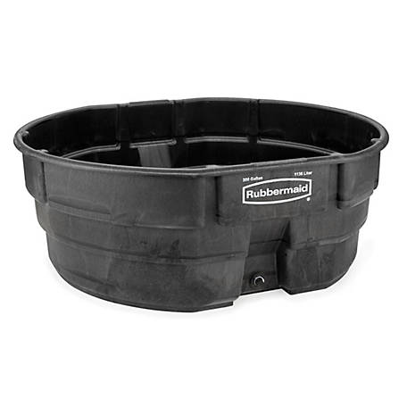 Rubbermaid Structural Foam Stock Tanks, 300 gal. Capacity, 4247 ...