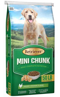 Shop 55 lb. Value Size Retriever Mini Chunk Dog Food at Tractor Supply Co.