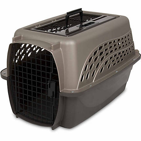 Petmate 2-Door Top-Load Kennel, Up to 15 lb., 21232