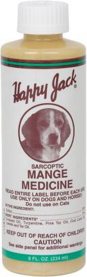Happy Jack Mange Medicine, 8 fl  oz  at Tractor Supply Co