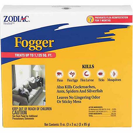 Zodiac Flea & Insect Fogger, Pack of 3