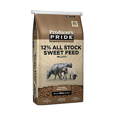 Producer's Pride 12% All-Stock Sweet Feed, 50 lb.