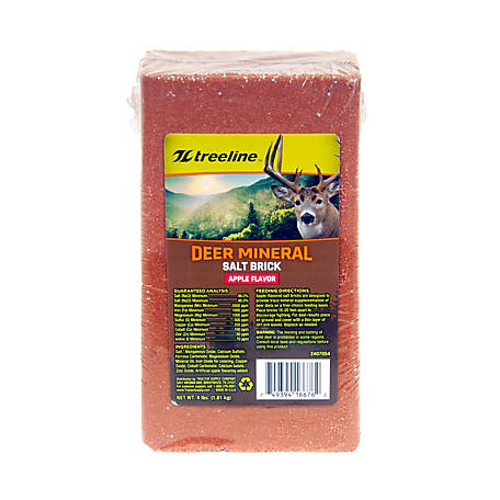 treeline Deer Mineral Salt Brick, Apple, 2407054