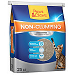 Paws & Claws Non-Clumping Cat Litter, 25 lb.