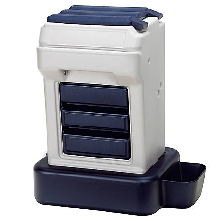 Bergan K-9 Cafe 25 lb. Capacity Automatic Feeder with 5 Gal. Watering Base