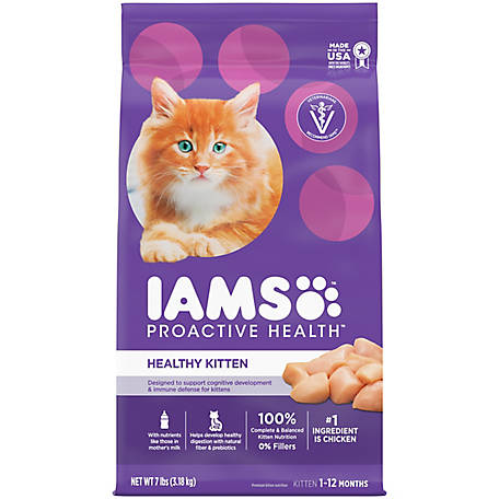 Iams Proactive Health Healthy Kitten Dry Cat Food, 7 lb.