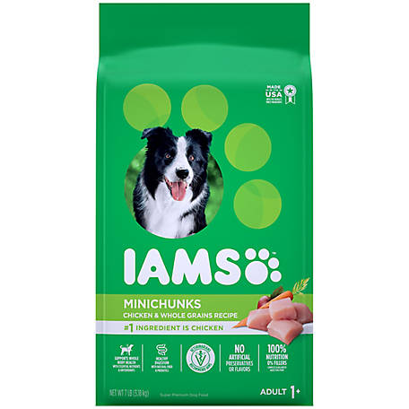 Iams Proactive Health Minichunks Adult Dog Food, 7 lb.