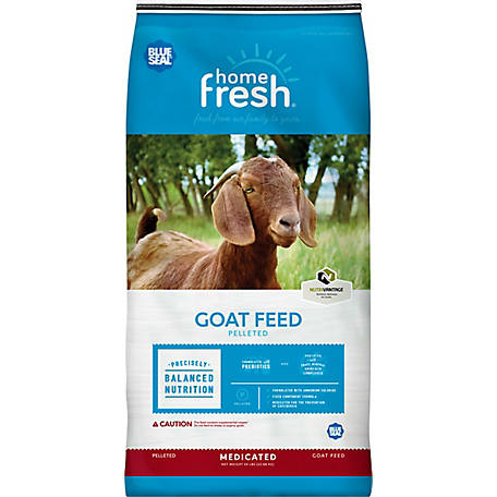 Blue Seal Home Fresh 16 Goat Grow & Finish 18DQ, 50 lb.
