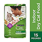 Purina Cat Chow Indoor Cat Food, 15 lb. Bag