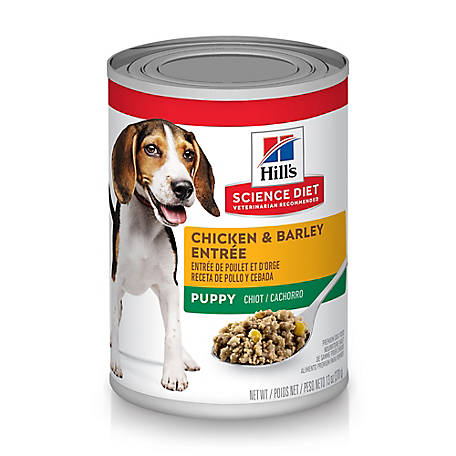 Hill's Science Diet Puppy Chicken & Barley Entree Canned Dog Food, 13 oz.