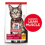 Hill's Science Diet Adult Optimal Care Original Cat Food, 16 lb.