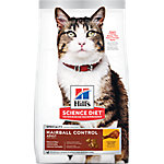 Hill's Science Diet Adult Hairball Control Cat Food, 3.5 lb. Bag
