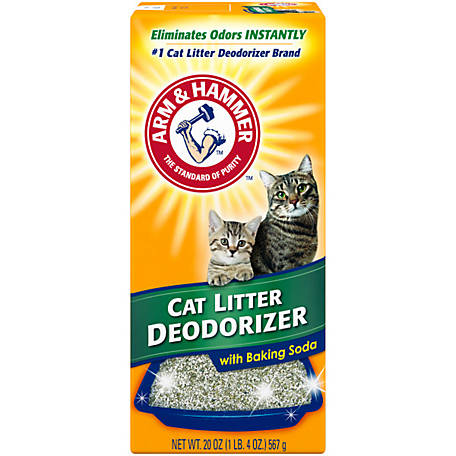 Arm & Hammer Cat Litter Deodorizer with Baking Soda, 20 oz., 2424519