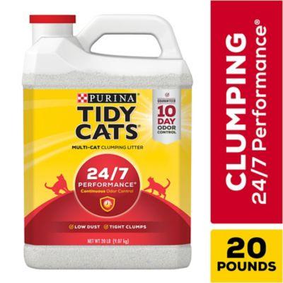 Buy Tidy Cats 24/7 Performance Clumping Litter; 20 lb. Jug Online