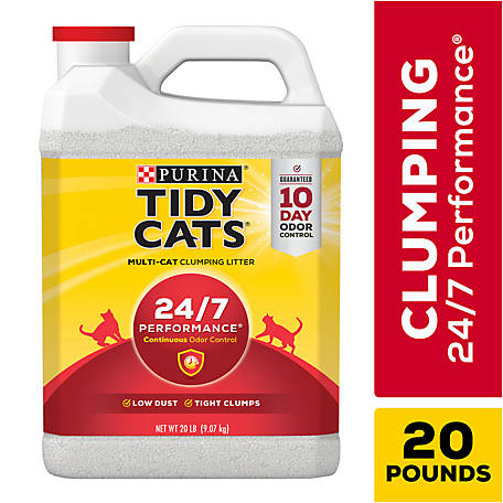 Tidy Cats 24/7 Performance Clumping Litter, 20 lb. Jug