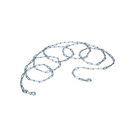 Retriever Welded Link Tie Out Chain, 4-1/2mm x 15 ft., Extra Large for Pets up to 150 lb.