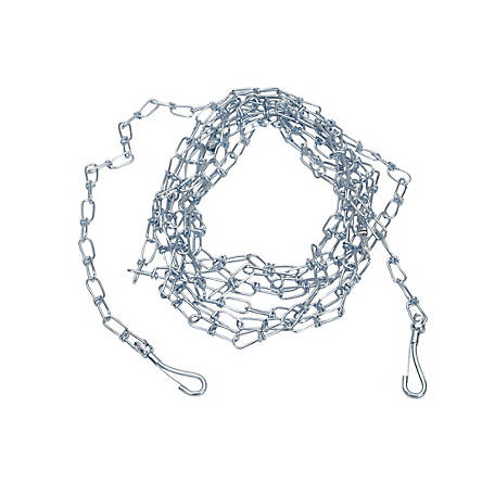 Titan Twisted Tie Out Chain, 15 ft. x 3 mm