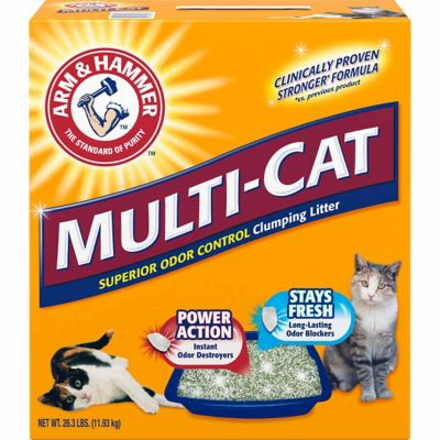 Buy Arm & Hammer Multi-Cat Extra Strength Clumping Litter; 26.3 lb.; 2286 Online