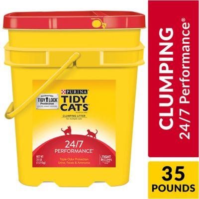 Buy Purina Tidy Cats 24/7 Performance Cat Litter; 35 lb. Pail Online