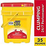 Purina Tidy Cats Clumping Cat Litter; 24/7 Performance Multi Cat Litter - 35 lb. Pail, 7023001669