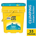 Purina Tidy Cats Clumping Cat Litter, Instant Action Multi Cat Litter, 35 lb. Pail, 12208201