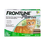 Frontline Plus for Cats, All weights, Three .017 oz. Doses